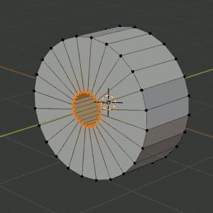 Blender scale - S - SHIFT-Y