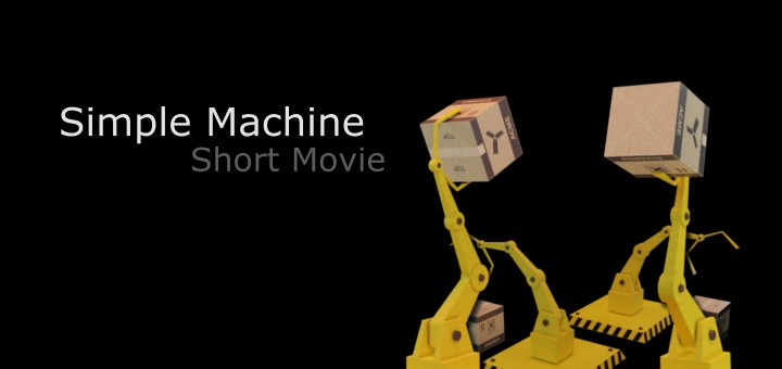 Blender 2.8 Simple Machine Movie