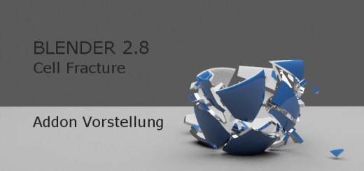 Blender 2.8 Cell Fracture Addon