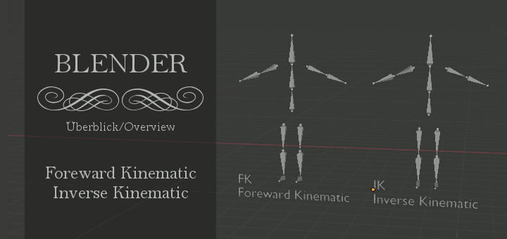 Blender 2.8 - Inverse Kinematic, Foreward KInematic