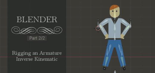 Blender Rigging Inverse Kinematic 2