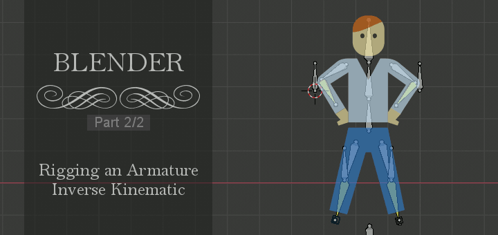 Blender Rigging Inverse Kinematic 2