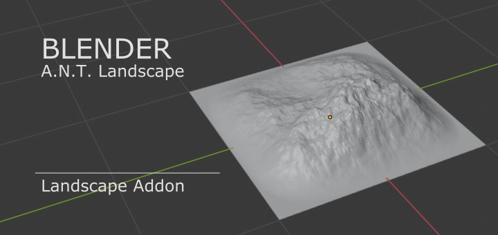 Blender ANT Landscape Addon