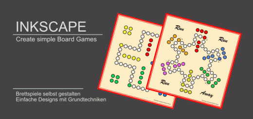 Inkscape Borad Game - Brettspiel Design