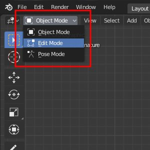 Blender Switch Modes