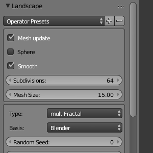 Landscape Settings 2.75