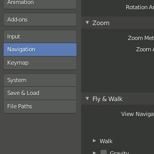 Blender 2.8 Navigation