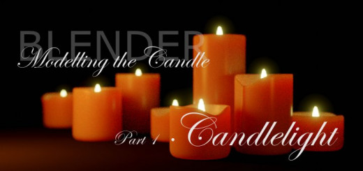Blender 2.8 - Candlelight 1/1