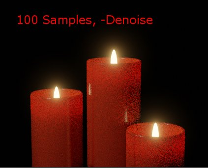 100 Samples without Denoising