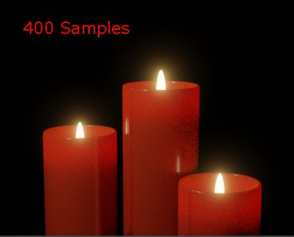 400 Samples without Denoising