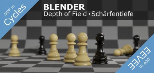 Blender 2.8 Depth of Field