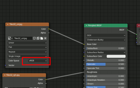 Blender Base Color Node