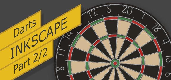 Inkscape Vector Darts Part 2
