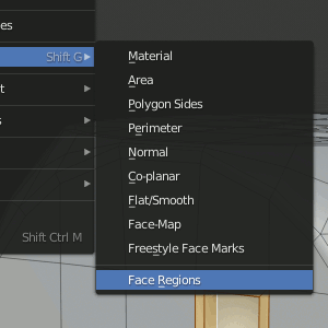 Select Similar - Face Regions