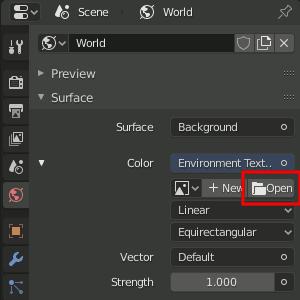 Blender Open Texture