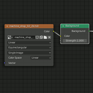 Blender 2.8 - Background Nodes