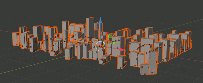 Example: OSM Data in Blender