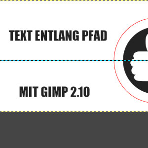 Untere Text-Ebene wählen