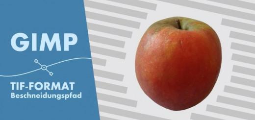 Gimp Tif-Format & Beschneidungspfad