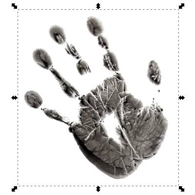 Importierte Hand (STRG-i)
