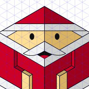 Freundlicher Santa