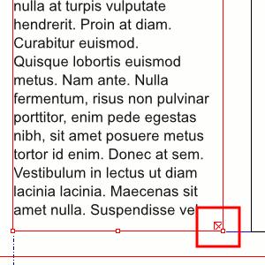 Mehr Text, nicht sichtbar