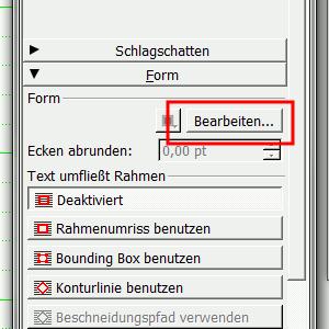 Fenster- Eigenschaften (F2)