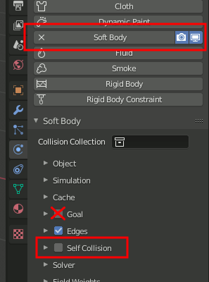 Softbody Settings