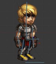 Character mit Bones
