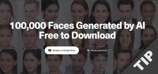 AI generated Faces