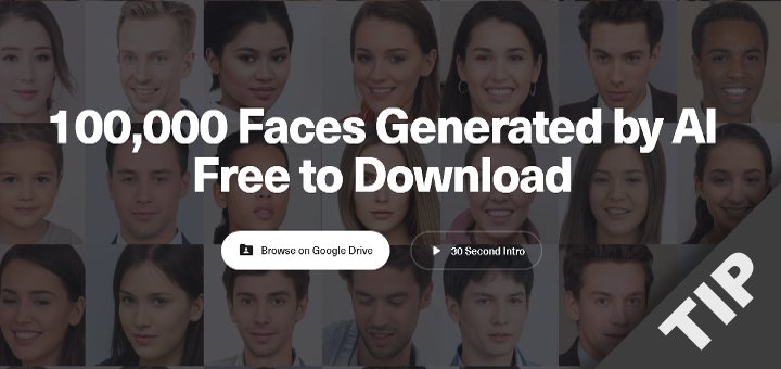 AI generated Faces