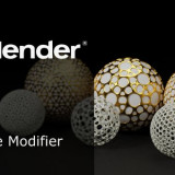 Blender Wireframe Modifier