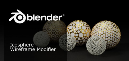 Blender Wireframe Modifier
