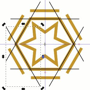 Linien duplizieren und rotieren