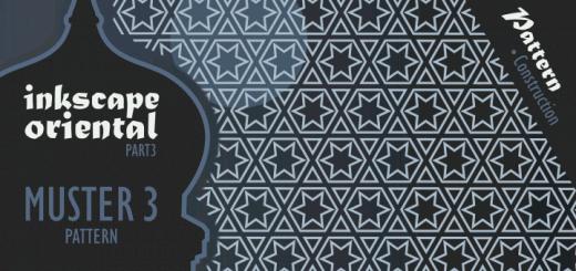 Inkscape Oriental Pattern 3