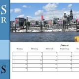 Kalender in Scribus