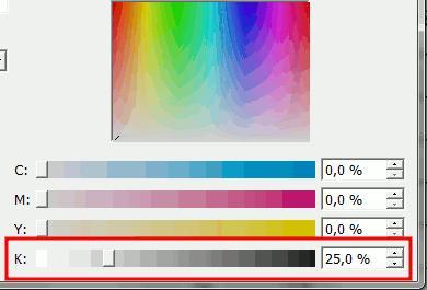 Grau für Tabellenrahmen