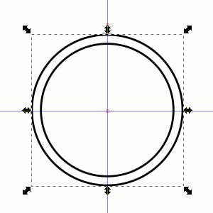 Zweiter Kreis (für Text)