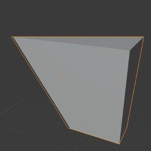 Cube nur teilweise sichtbar