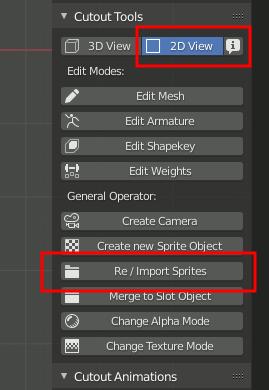 Re/ Import Sprites