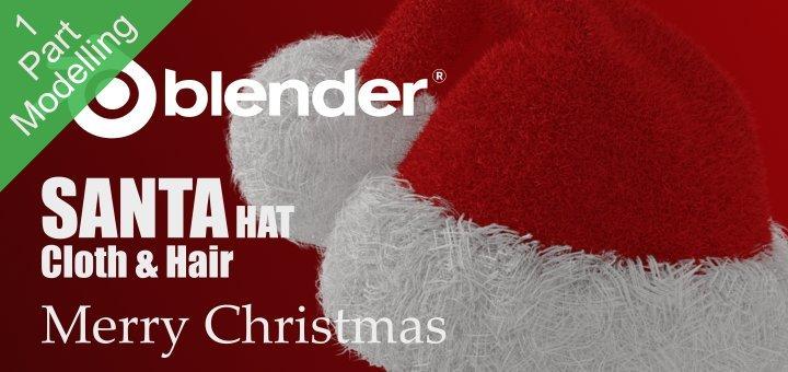 Blender Santa Hat
