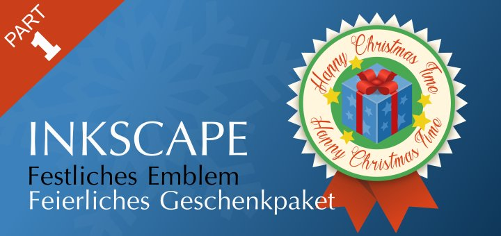 Inkscape XMAS Gift 2019 Part-1