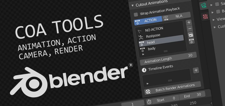 Coa Tools for Blender 2D-Animation