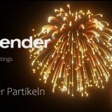 Blender Fireworks
