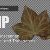 Gimp- Objekte Scannen für Texturen