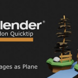 Blender - Import Images as Plane