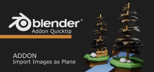 Blender - Import Images as Plane