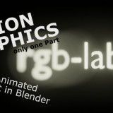 Motion Graphics in Blender