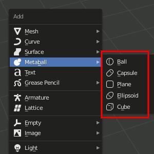 Add - Metaball