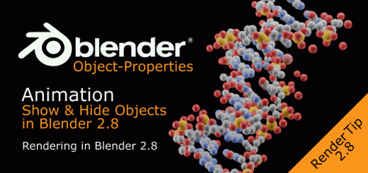 Show & Hide Objects in Renders